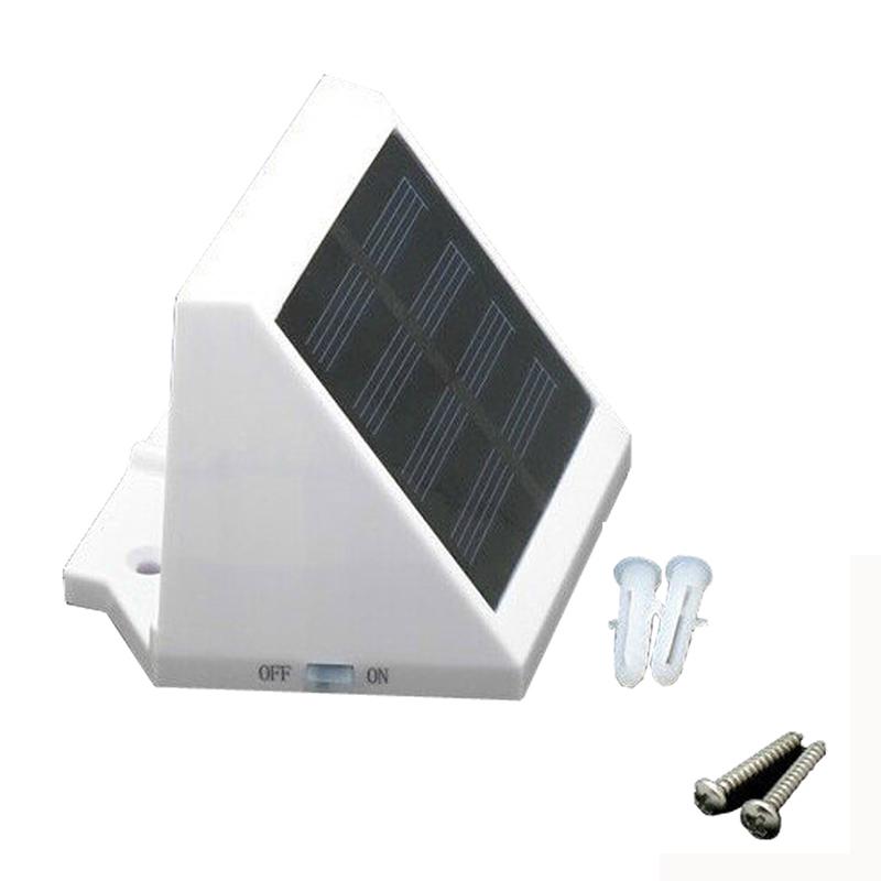 Outdoor Auto Solar Power LED Porch Lights Light Solar