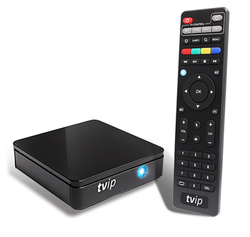 Iptv Support H 265 Airplay Dlna Mag254 Portal Tvip 410 412 Mini Android  Linux Dual Os Smart Tv Box - Buy Tvip410,Iptv Support H 265,Dual Os Smart  Tv