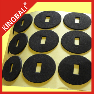 Close cell soft 3mm thick black EPDM rubber foam Sheet