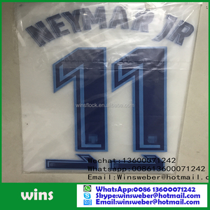 big size soccer jersey number and letter for liverpool team