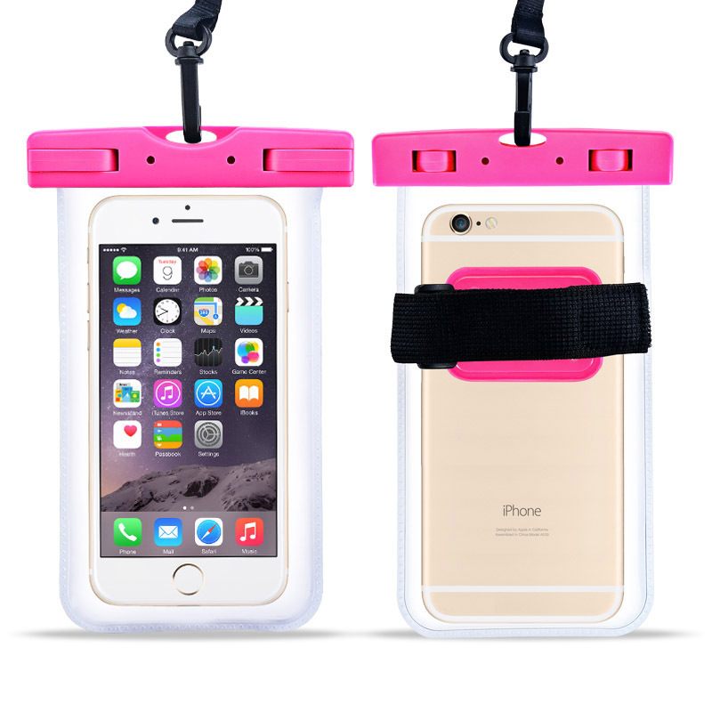 TPU / PVC Swimming Mobile Phone where to <strong>buy</strong> waterproof phone case submersible waterproof bags waterproof neck <strong>wallet</strong>