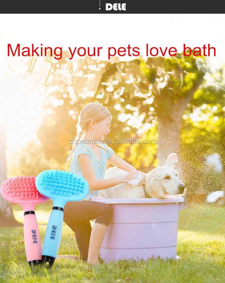 Baby feel apply to long hair dog or cat grooming brush&Support wholesale pet product