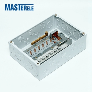 High Performance Grey Rail Mounted Power Distribution Box
