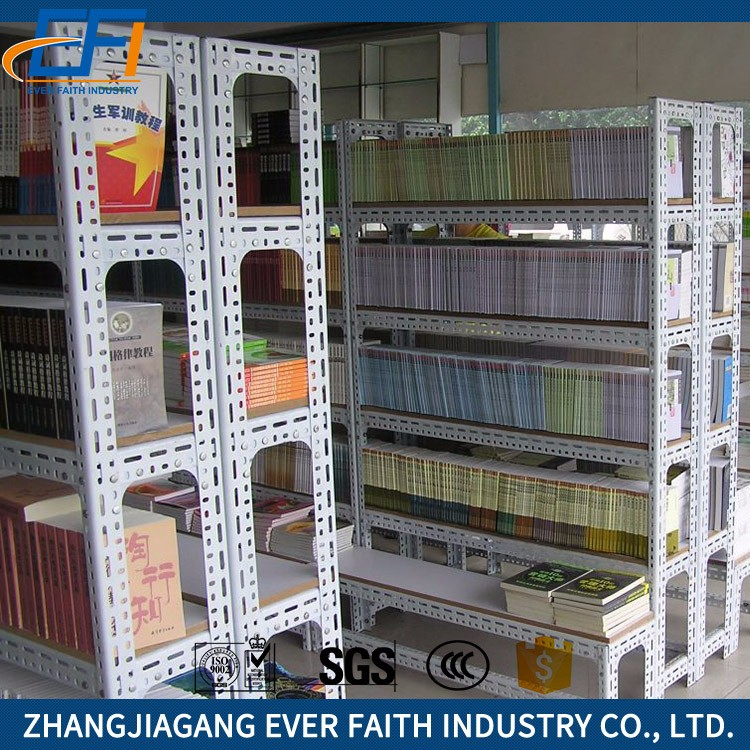 High Quality New Design OEM Metal Used Library Shelving