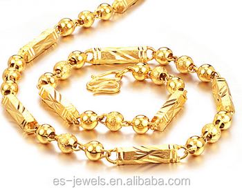 in design heavy plated latest gold wholesale dubai detail product necklace chain
