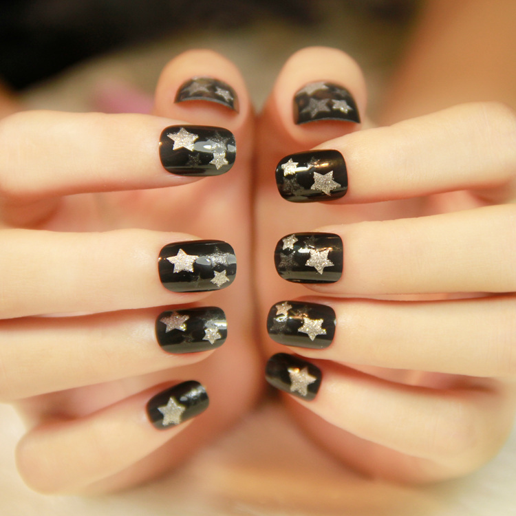 ABS plastic products fake nails for beauty nail salon use beard ...