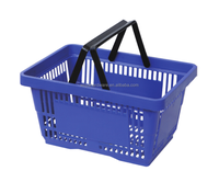 28 Litres Double Handle shopping storage basket for supermarket