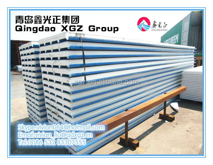 XGZ colorful sandwich panel eps