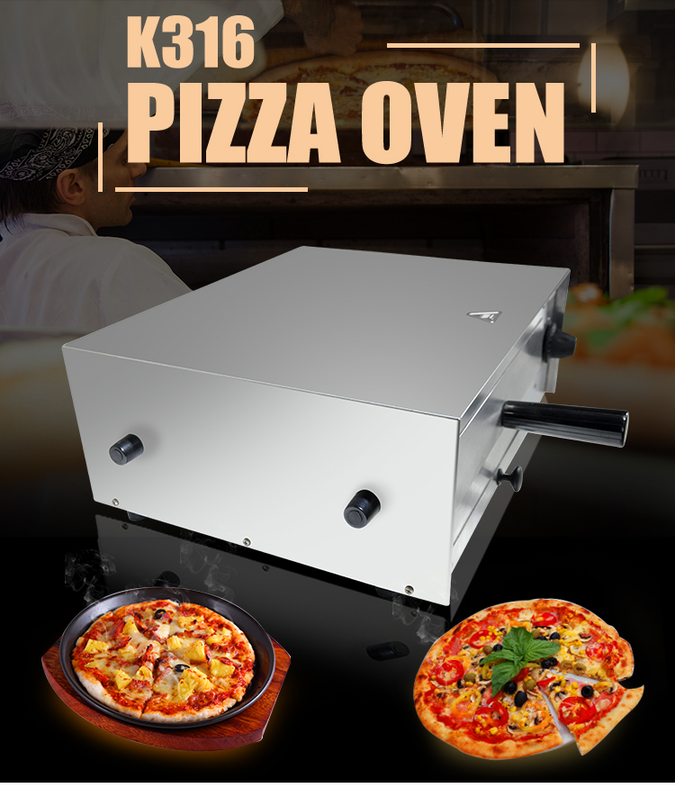 K316 Portable Mini Electric Pizza Oven Home Use