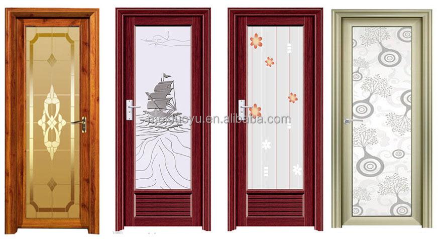 3 Made In China Pvc Aluminium Aluminum Interior Sliding Folding Bathroom Door Buy Door And