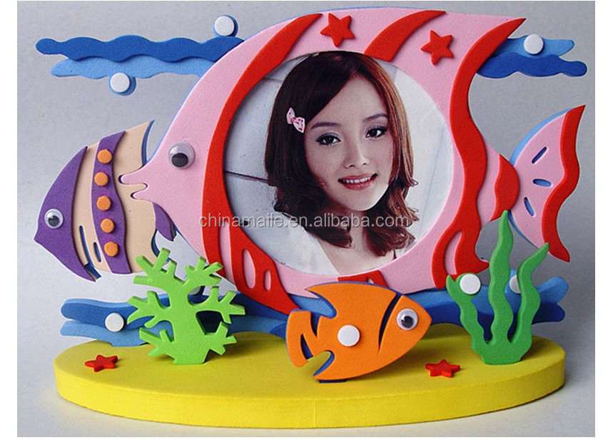 Craft Eva Foam Frame/craft Eva Foam Photo Frame/ Eva Foam Child ...