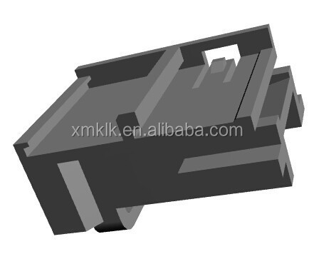 PBT GF10 Material Black Retainer Black Accessory 4 Pin 1534149-1 Amphenol Connector