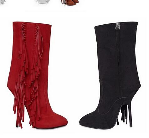 Cheap Fringe Heel Boots Find Fringe Heel Boots Deals On Line At