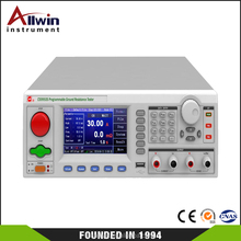 CS9950S earth resistance tester with PLC and RS232 interface TFT display Ground resistance tester ground continuity tester