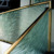House Stair with fused glass