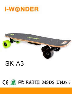 SK-C2 Off Road All Terrain Electric Skateboard 500W*2 DC Brushless Hub Motor 36V 8.8Ah