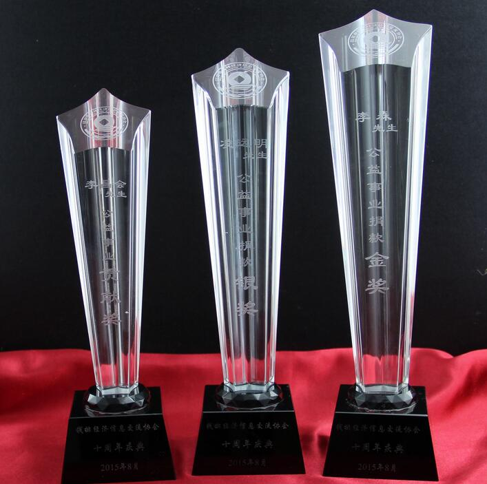 OEMPROMO k9 Crystal trophy for award
