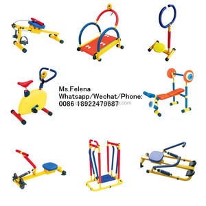 10 in one Hot Sale Indoor Gym Cheap Kids Fitness Equipment Used Kids Gym Equipment for Sale QX-18091