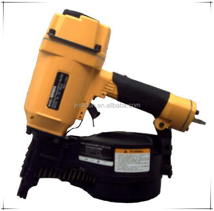 HIGHT QUALITY!!! CN--90A 50-90mm PNEUMATIC AIR COIL ROOFING NAILER FOR PALLET CONSTRUCTION