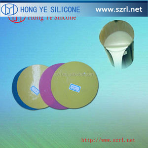 Lead-Zinc Mold Making silicon rubber for spin casting of zamak