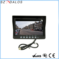 7 inch lcd monitor,AV input mini lcd,7 inch quad car monitor