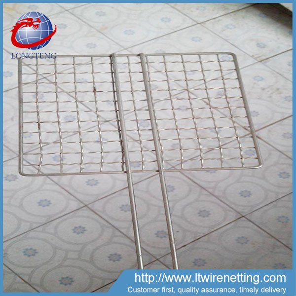Lowest price One-time Mini round barbecue grill wire mesh for camping bbq