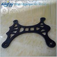 Structural strengthening 100% Carbon Fiber Material Carbon plate shape type cnc machined carbon fiber parts sheet plates veneer