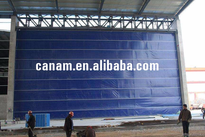 High Efficiency Bottom Price Automatic Hangar Sliding Doors