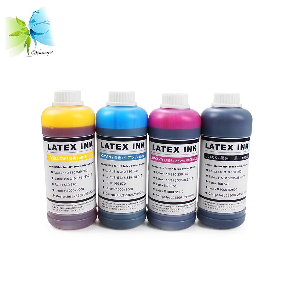 WINNERJET universal bulk latex ink compatible for HP latex series inkjet printers