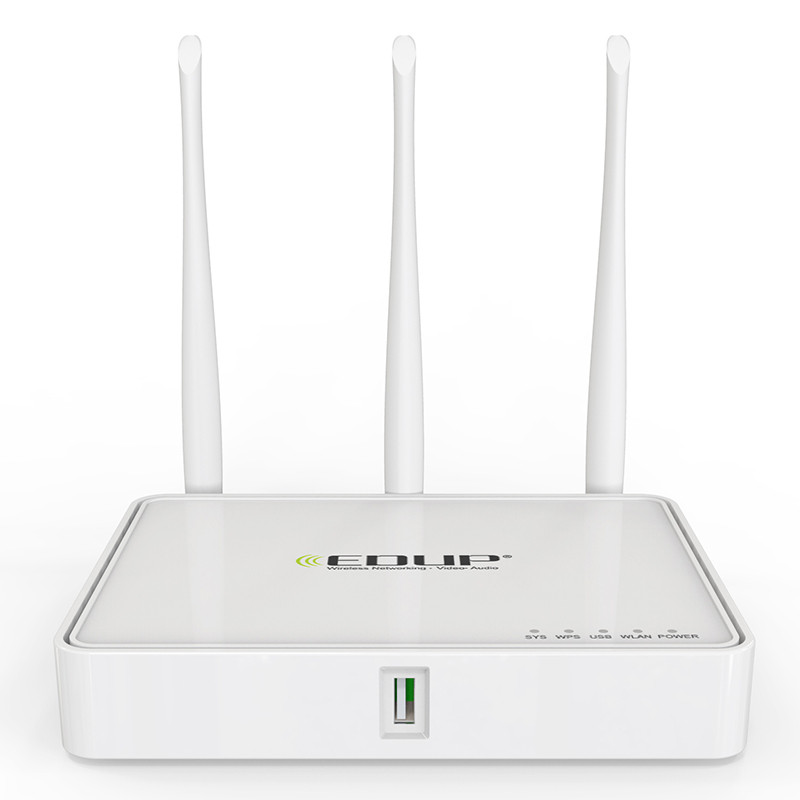EDUP 802.11n 300Mbps 4 ports Wireless Wifi Router with 5dBi Omni Direction Antenna