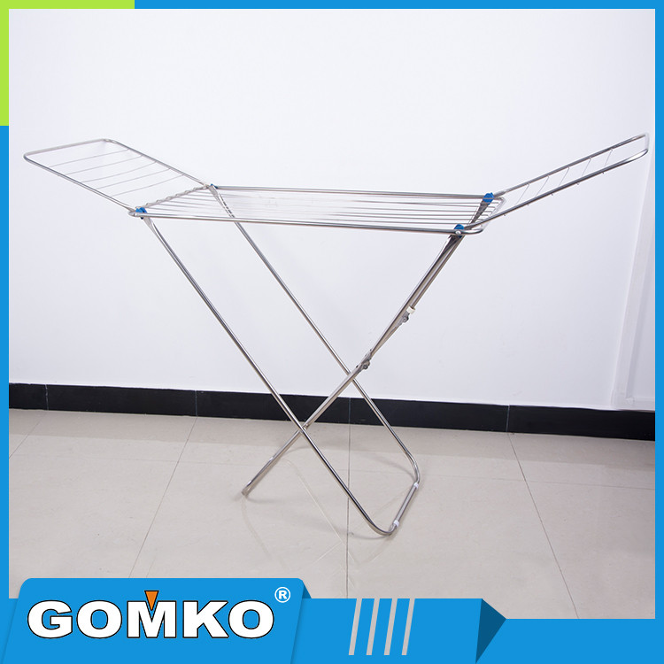 2 Arms and Legs ABS plastic and stainless steel tube folding cloth dryer portable