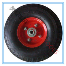 3.00-4 rubber foam tyre trolley wheel