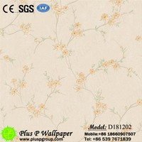 Commercial thickness vinyl coffee shop china suppliers wallpaper