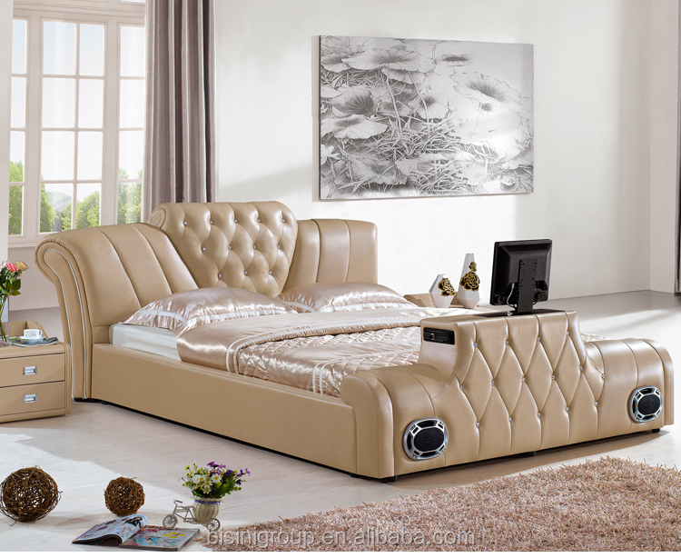 Mordern Design Music Round Bed With Build In Speaker For Sale Buy Round Bed