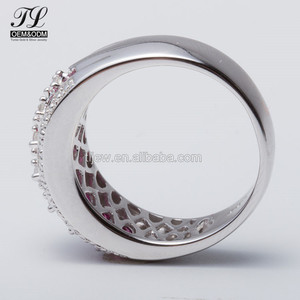 Guandong online shop gift 925 sterling silver engagement rings for women