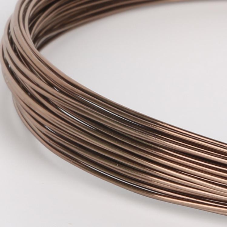 Colorful 5Meter 10Meter 18 Gauge Aluminum Wire 1.0MM Bulk Aluminum Wire For Multicolor Aluminum Bonsai Wire
