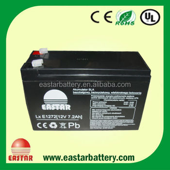 12v 7ah lead acid UPS battery