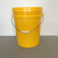 factory for widely used plastic bucket 5 gallon custom bucket