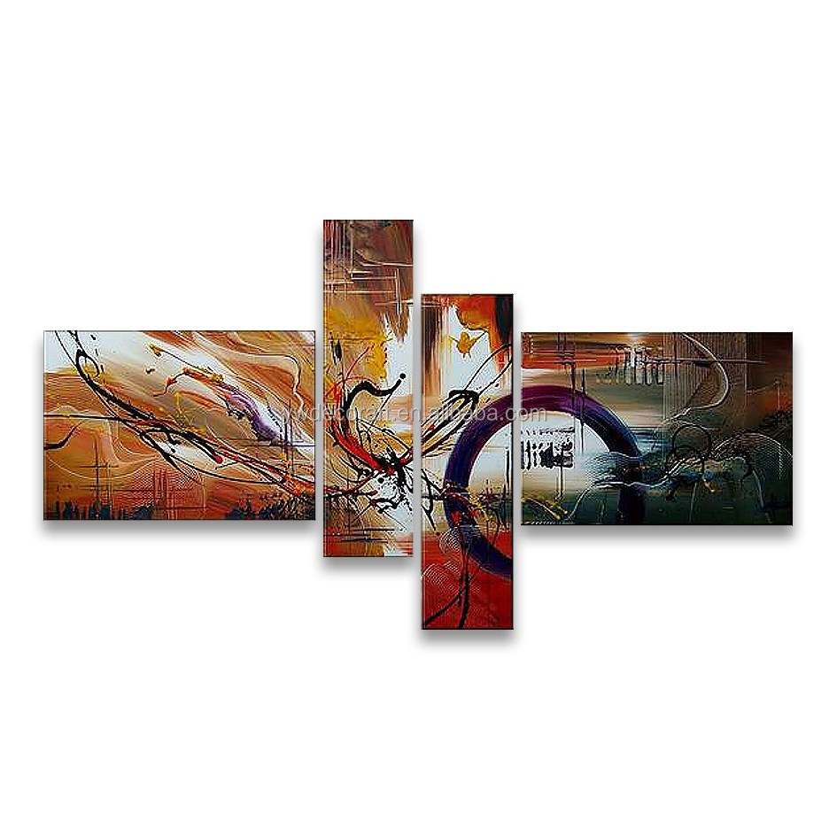 Newest design handmade famous chinese canvas oil paintings canvas painted picture frames handmade abstract oil painting