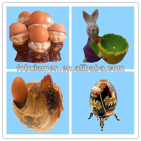Earthenware Chicken Decorative Egg Stands