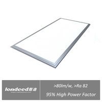 High luminance 78w 600x1200 mm no strobe panel light led