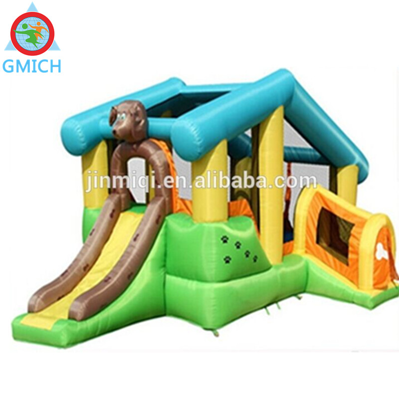 JMQ-P128J Attractive UNTI-UV commercial used bouncy castles for sale