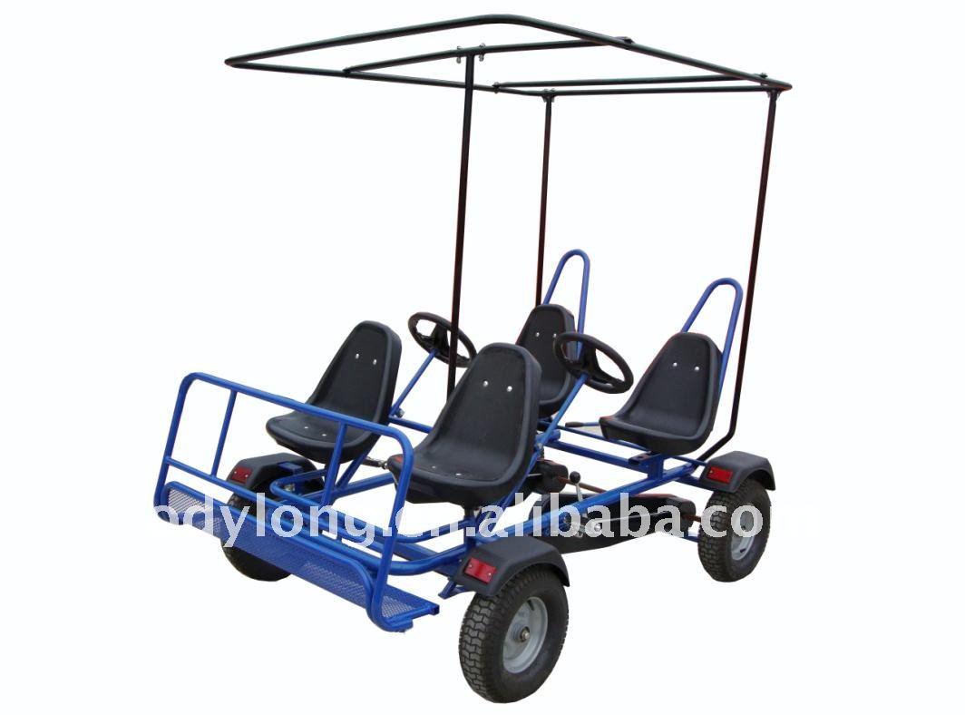 doppelperson gehen kart das fahrrad mit 4 personen. Black Bedroom Furniture Sets. Home Design Ideas