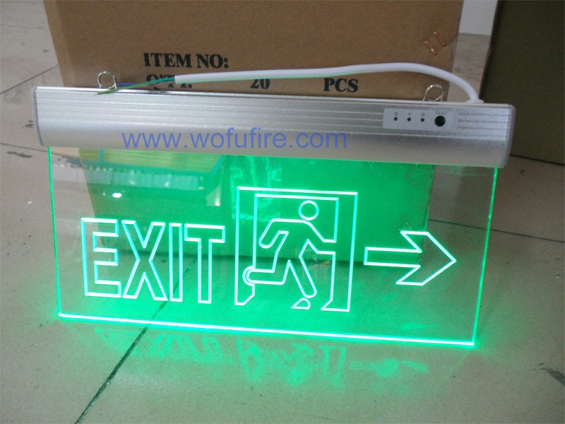 Led Fire Emergency Exit Light