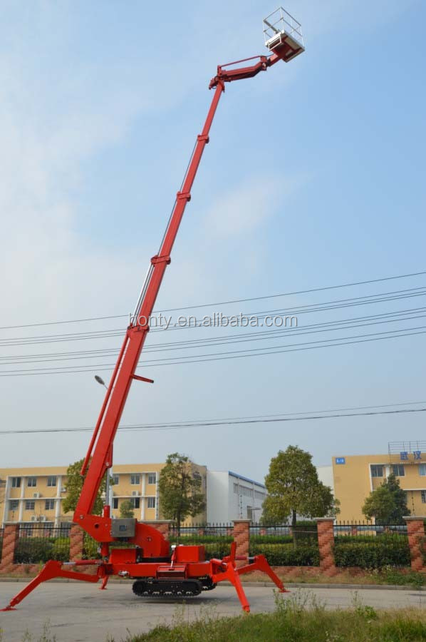 26m hydraulic spider lift or cherry pick for sale in china