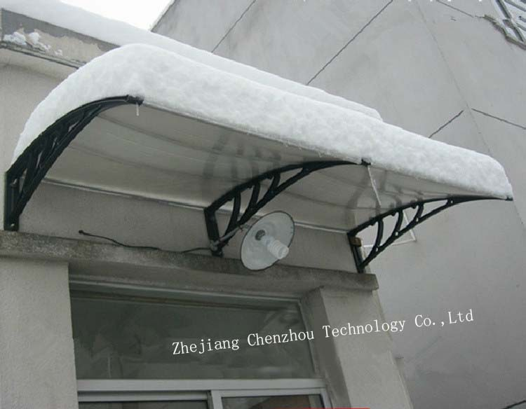 2015 new style canopy, hot selling cover, plastic awning bracket,home equuipment CZPC-0608 V66