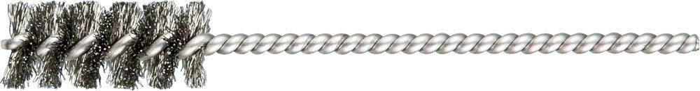 """PFERD 83391 SpyraKleen Tube Brush, Single Stem/Spiral, .005"""", Stainless Steel Wire (INOX), 7/16"""" Diameter, 1/8"""" Stem, 1"""" Brush Part Length (Pack of 36)"""