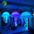 Hanging Led Huge Inflatable Decoration Jellyfish Balloon For Party