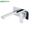 wall mount single lever basin faucet
