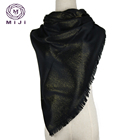 Arab 100% polyester muslim hijab exquisite scarf for women